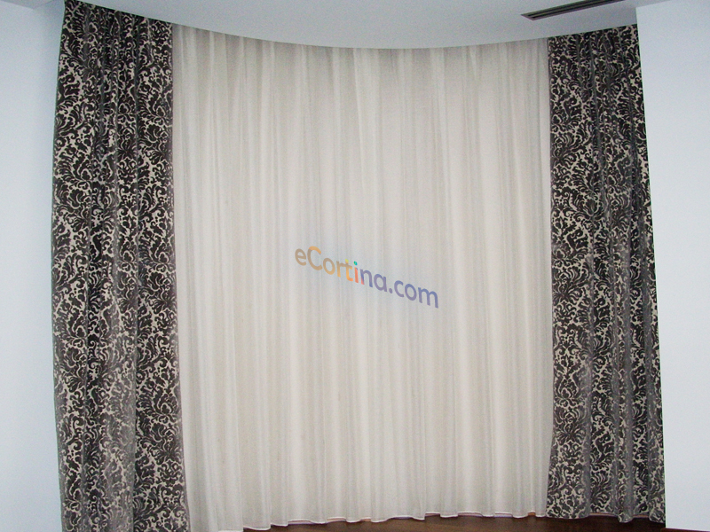 Cortinas estampadas ideas for Cortinas estampadas modernas