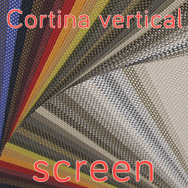 Pedir muestras de cortina vertical screen